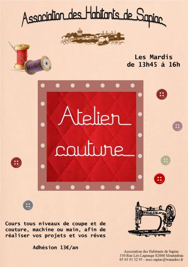 Affiche couture 2